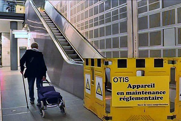 Une vision bien connue des clients du métro rouennais