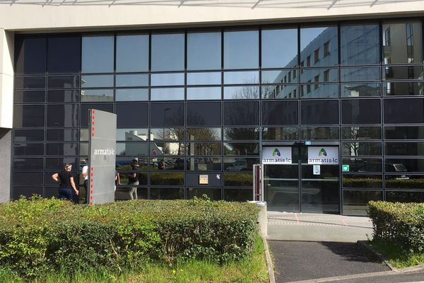 Les locaux d'Armantis LC, sur le site du Futuroscope, ce jeudi 19 mars.
