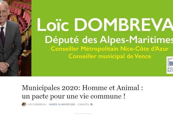 Propositions de L. Dombreval