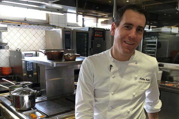 Mathieu Guibert passe ses congés à travailler à la préparation de la finale du Meilleur Ouvrier de France, catégorie Cuisine et Gastronomie
