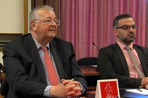 En juin dernier, le maire sortant de Saint-Lô, François Digard, a annoncé qu'il n'était pas candidat à sa succession.