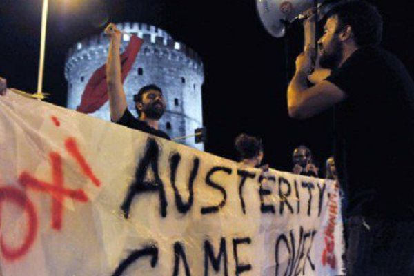 """Victoire du """"non"""" hier en Grèce"""