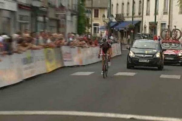 Sébastien Fournet-Fayard a pris une belle option pour la victoire finale en s'imposant à Riom-ès-Montagnes le samedi 27 juillet 2013