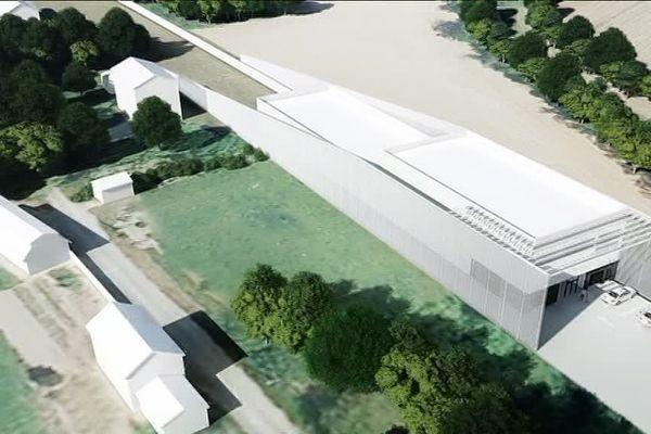 Le centre d'essai de l'Hyperloop à Droux devrait voir le jour au printemps prochain. (Haute-Vienne)