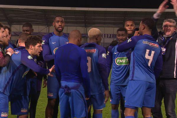 L'ACFC s'est qualifié pour les 16èmes de finale de la Coupe de France de football en battant Challans.