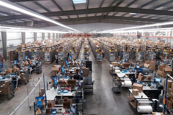 L'entrepôt de 5000 m2 est implanté à La Veuve.