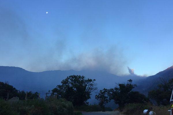 Un incendie a éclaté dans la nuit de jeudi à vendredi dans le Cap Corse