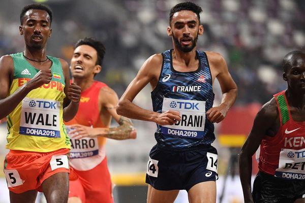 Le Toulousain Djilali Bedrani termine 5 ième du 3 000 mètres steeple aux Mondiaux d'athéltisme à Doha