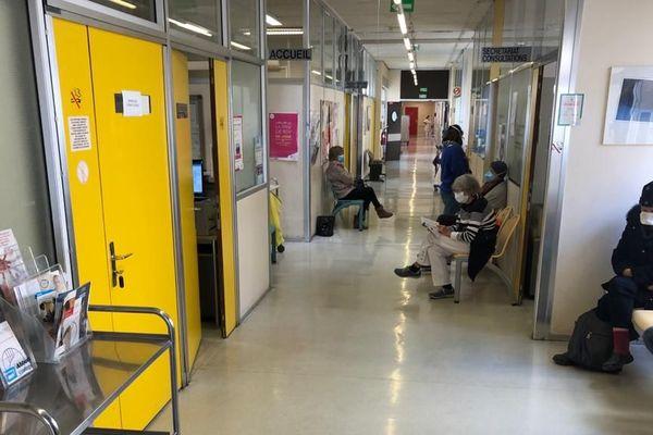 Le service d'hématologie de l'Archet à Nice ce jeudi 23 avril.
