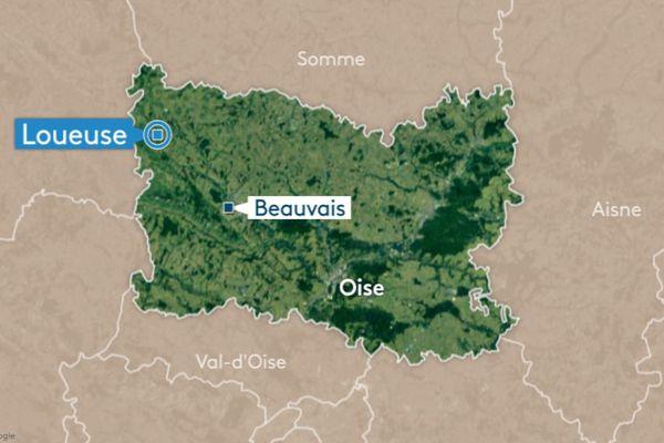 Un accident s'est produit sur la RN150 entre Loueuse et Morvillers ce 7 octobre.
