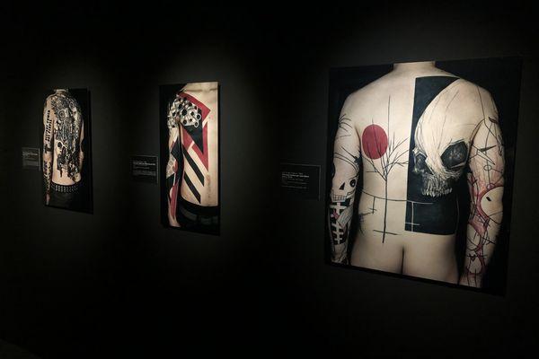 Inspirations variées, de Vasarely à Mondrian, en passant par ... Tim Burton ?