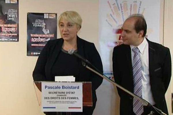 Pascale Boistard, la secrétaire d'État chargée des Droits des femmes