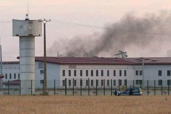 Le centre pénitentiaire de Vivonne, le 12 septembre 2016
