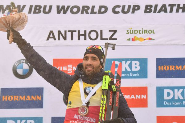 Le Catalan Martin Fourcade a remporté dimanche la mass start d'Anterselva, sa 69e victoire en Coupe du monde de biathlon, la 6e de la saison 2017-2018.
