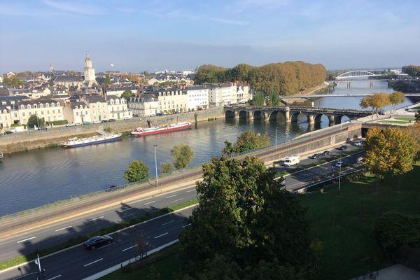Vue générale d'Angers