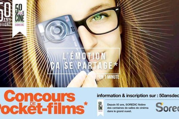 50 ans de cinéma à la  Soredic: concours de pocket-film