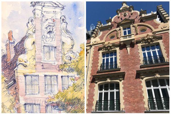 L'hôtel particulier imaginé par Charles Wislin située au 28 rue Ballu, Paris IXe.