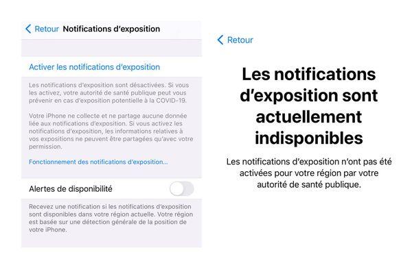 Le dispositif de tracking Apple, tout comme celui de Google, ne fonctionne pas en France.
