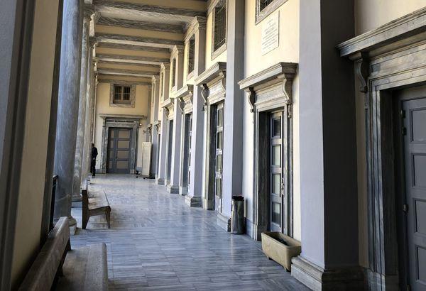 Les magistrats ont découvert le palais de justice qui sera désormais leur lieu de travail.