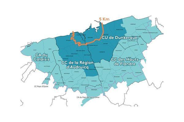 Le Plan particulier d'intervention (PPI) de la centrale nucléaire de Gravelines étendu à 20km.