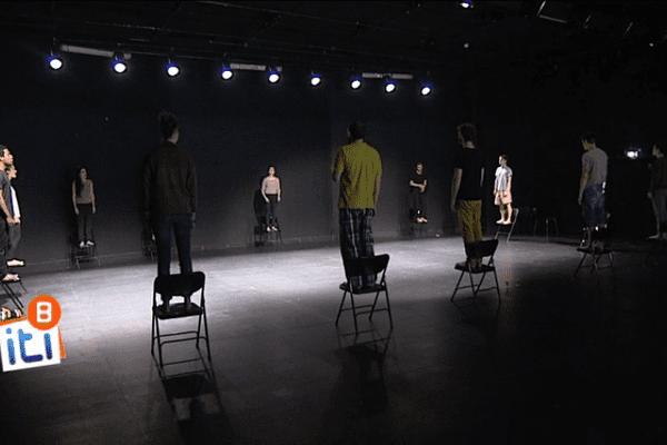 La promotion 2012-2015 de l'école de théâtre du TNB