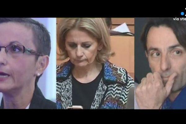 Dominique Verdoni, Nanette Maupertuis, et Christophe Storaï