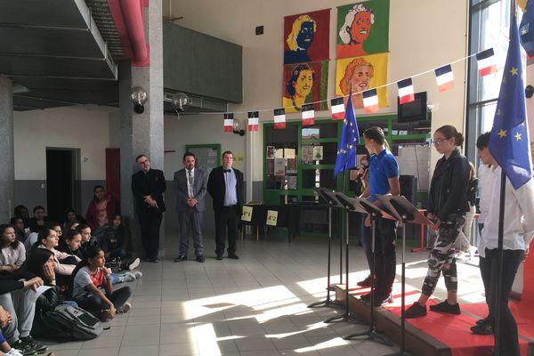Le parlement européen des élèves de Givors (Rhône) à l'heure du vote
