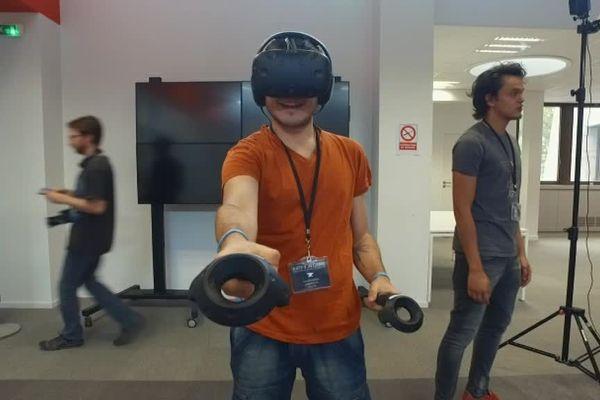 Création de jeu vidéo en réalité virtuelle à Montpellier