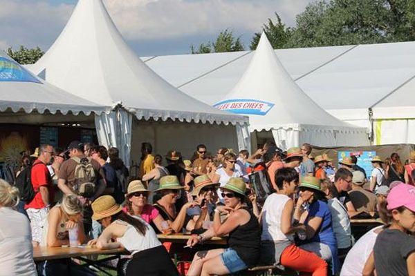 Le festival des Francos Gourmandes à Tournus, en Saône-et-Loire