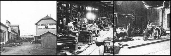 La fonderie au début du 20e siècle