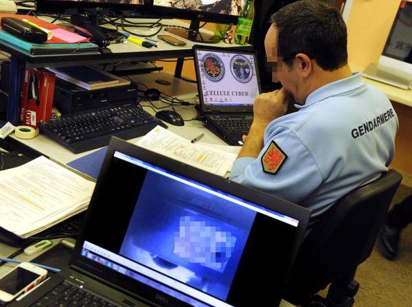 Les gendarmes traquent les cybecriminels toute l'année.