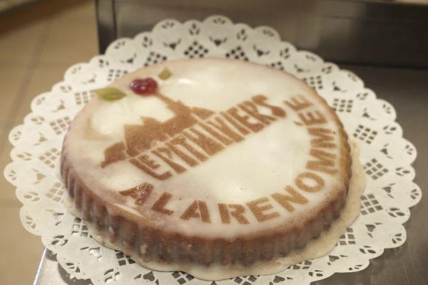 """Le Pithiviers de la boulangerie pâtisserie """"À la renommée"""" à Pithiviers"""