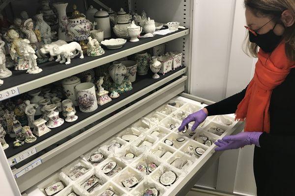 Plus de 850 000 pièces sont stockées dans les réserves du Musée des Arts décoratifs.