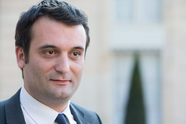 Florian Philippot est élu député européen