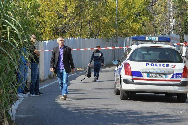 Le procureur de la République Xavier Tarabeux était sur la scène de crime hier