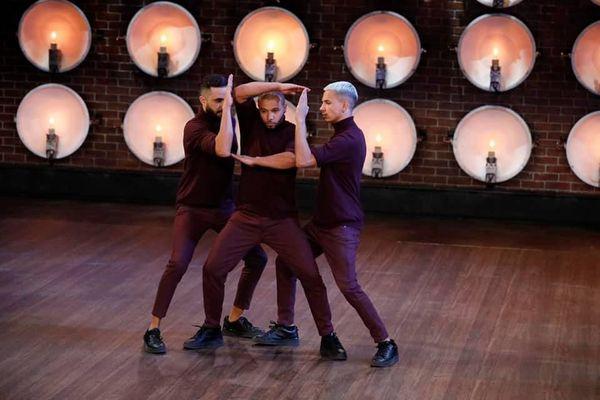 Le Lillois Jibril Maillot (à droite sur la photo) brille dans l'émission américaine World of Dance avec son groupe Géométrie Variable.