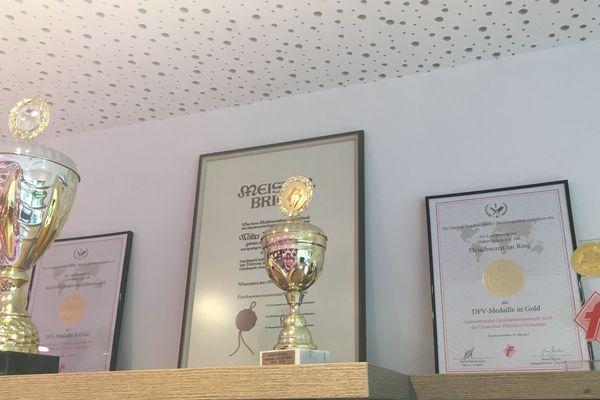 Walter Adam, boucher à Herxheim (Allemagne), est le champion 2018 d'une compétition insolite : le concours de meilleur Saumagen d'Allemagne