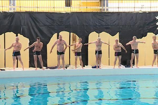 Les papas nageurs de Nantes