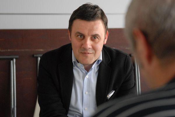 Frédéric Augis, maire de Joué-les-Tours.