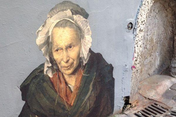 """""""La Monomane de l'envie"""", de Géricault."""