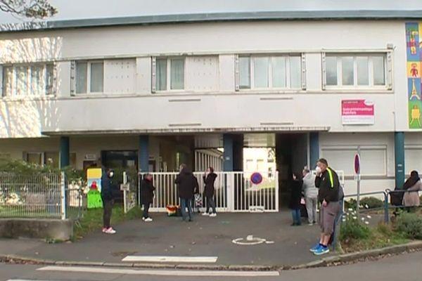 L'école du Petit Paris à Brest est la première école à fermer dans la ville depuis le début de la crise sanitaire