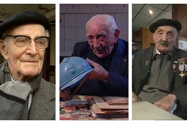 Pierre Rouquet, Ovide Poquet, Marceau Magnier, des Poilus rescapés de la Grande Guerre