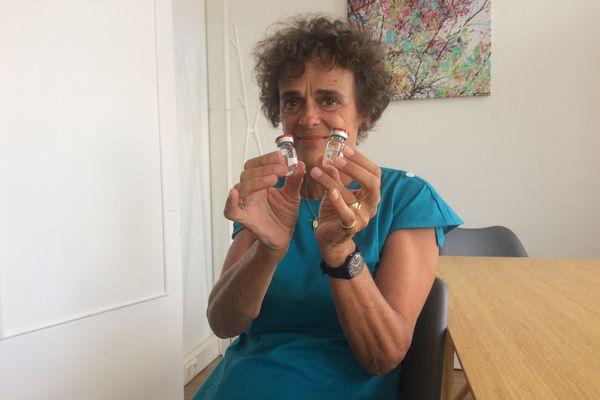 Odile Duvaux, présidente de Xenothera