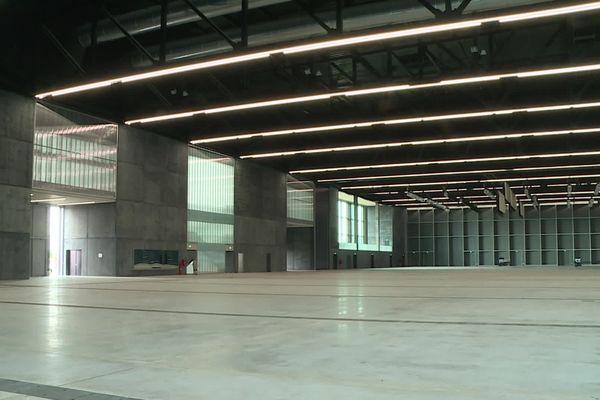 C'est dans une salle du nouveau parc des expositions de Toulouse qu'auront lieu les épreuves sanctionnant la PACES, la Première année commune des études de santé.