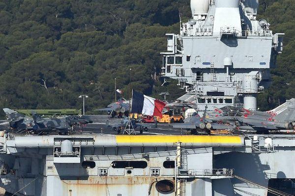Photo prise ce mardi 17 novembre en rade de Toulon.
