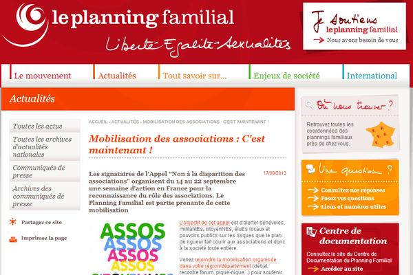 Le planning a besoin de 63 000 euros.