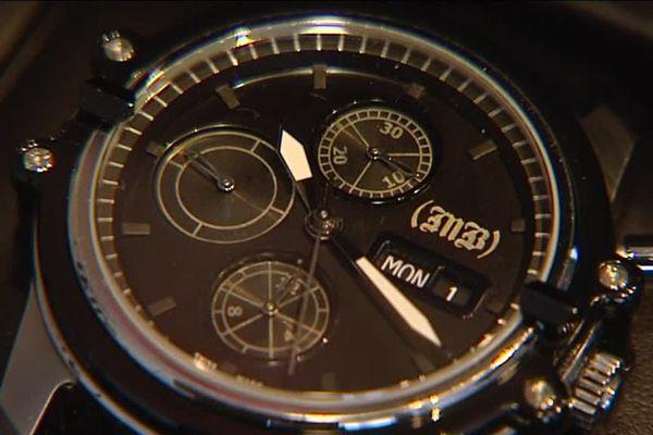 la montre créée par Mikael Bourgeois, designer horloger à Morteau