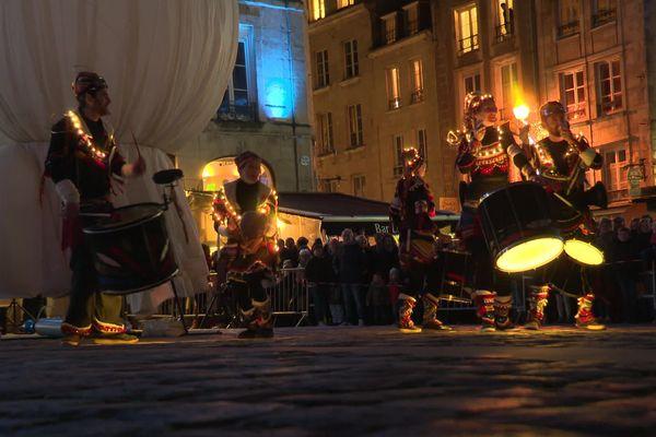 la parade de Noel à Caen, 7 décembre 2019