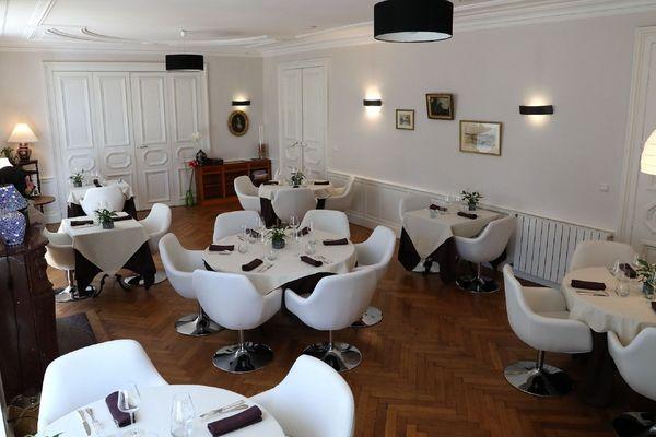 """Le chef du restaurant """"le Boeuf Marin"""" a décidé de mettre sa cuisine gastronomique au service des bénévoles  de Carmaux."""