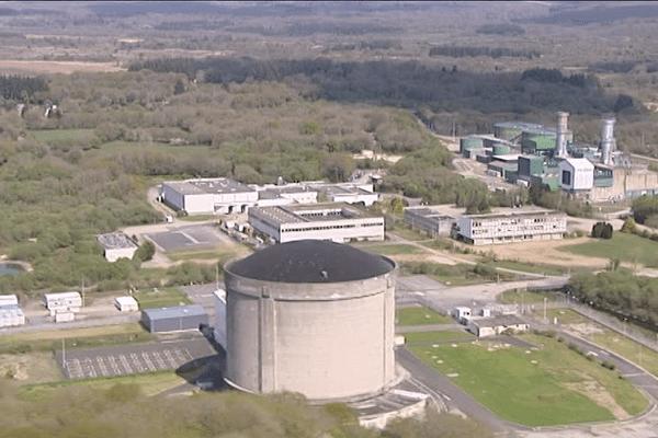 La centrale de Brennilis, dans le Finistère